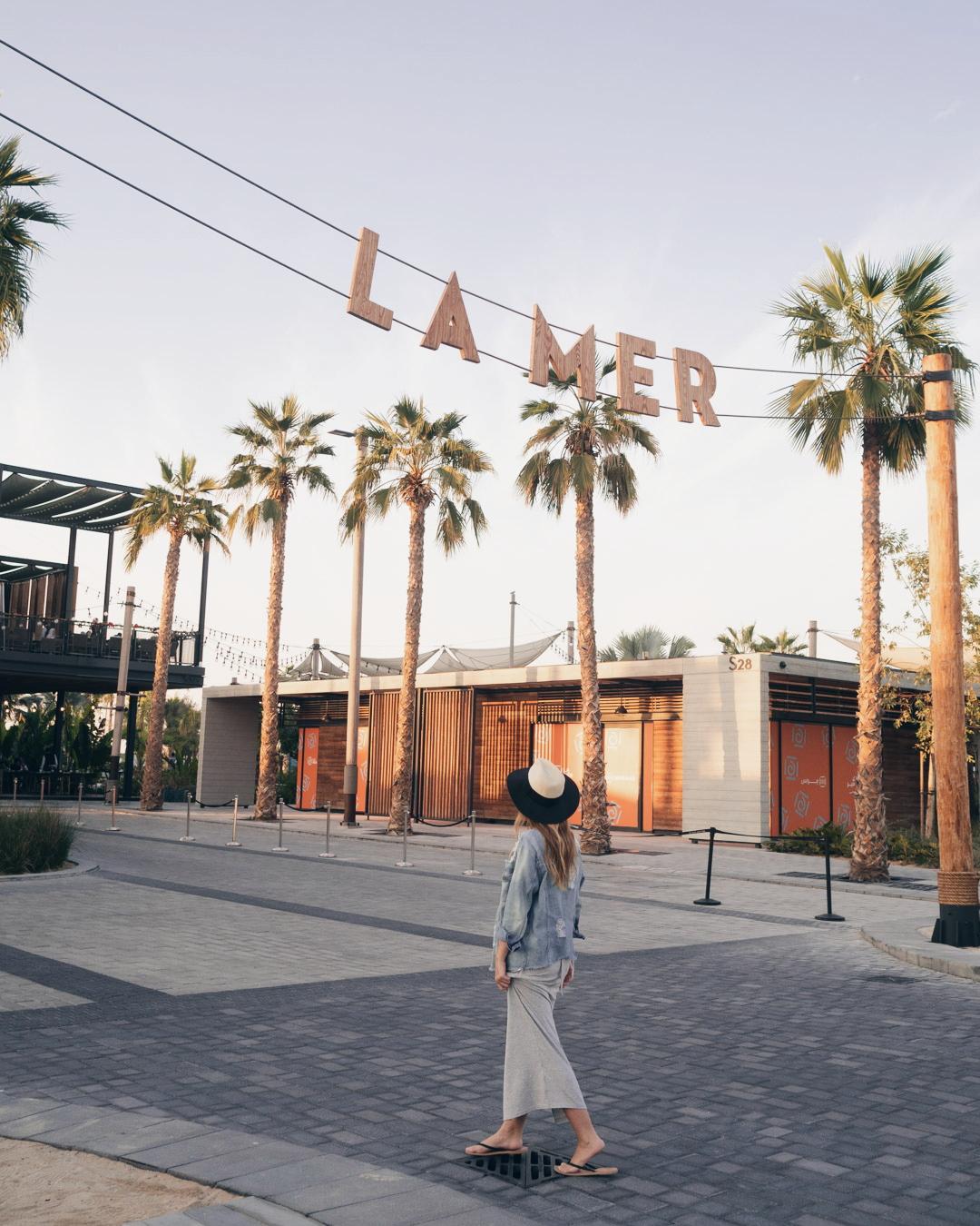 LA MER DUBAI – a hip beachfront hotspot